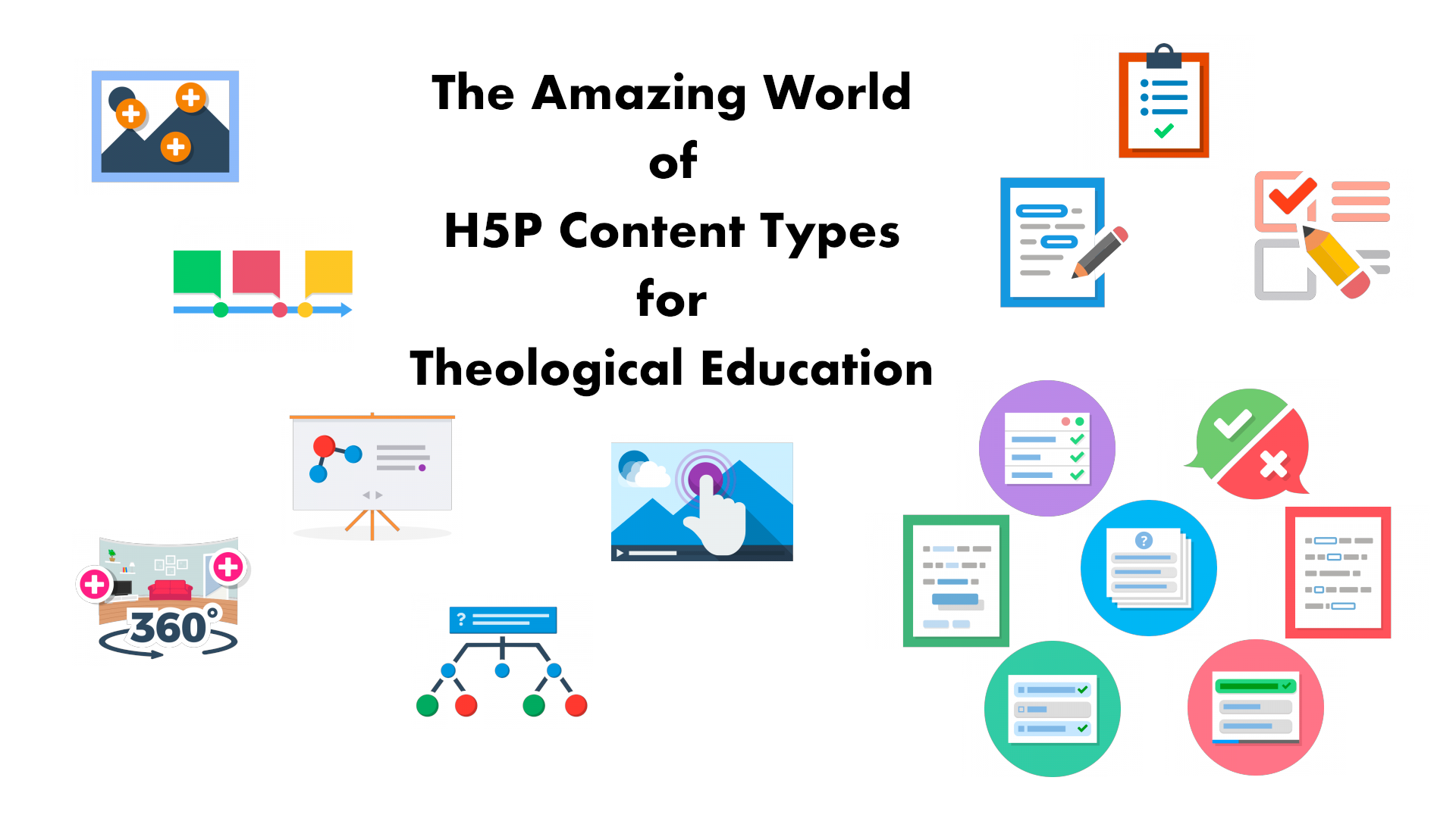 The Amazing World of H5P Content Types for Theological Education